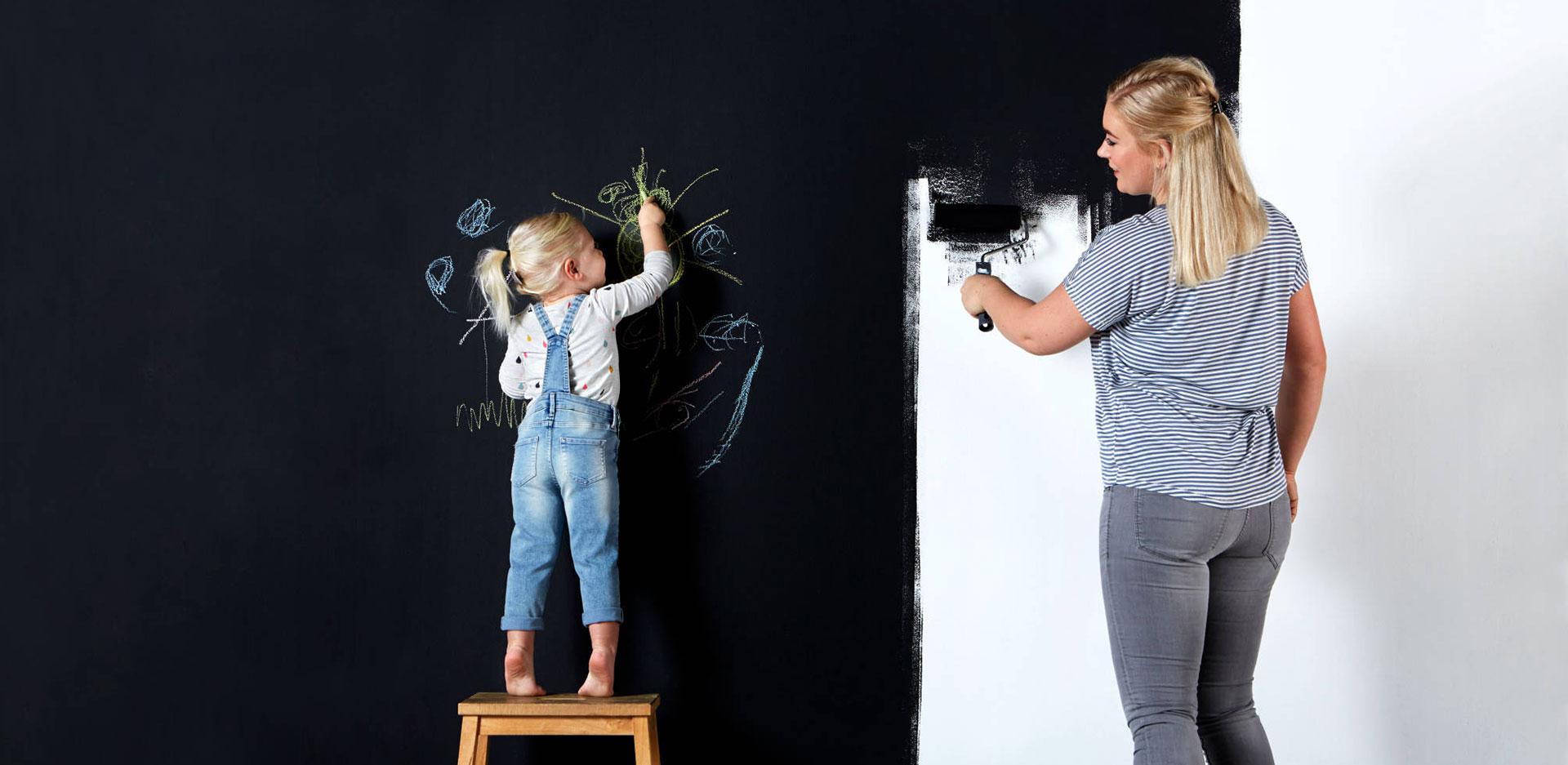 رنگ معناطیسی در مهدکودک